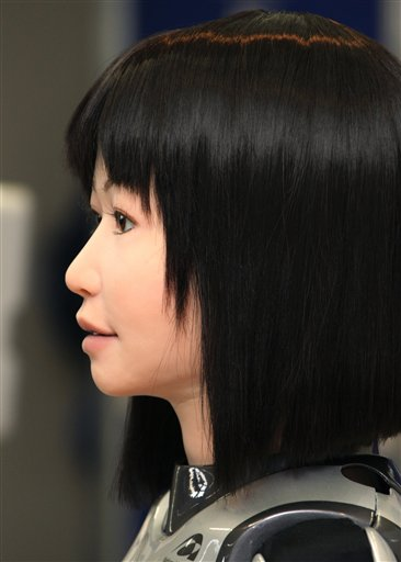 APTOPIX Japan Girl Robot