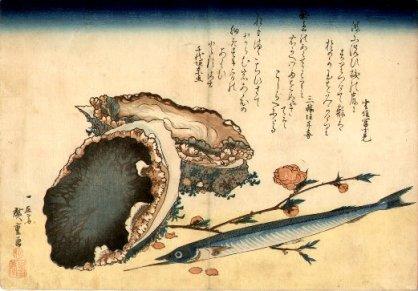 Hiroshige_fish_&_shells2