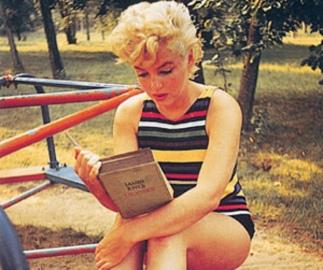 Glamorous vacation reading
